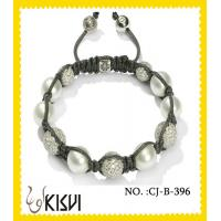 China Thousand of style Shamballa Crystal Beads Bracelet with factory price wholesale