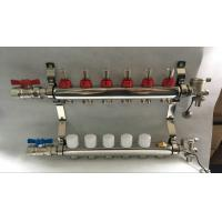 China Reliance Underfloor Heating Manifold With Italy Long  Flow Meter wholesale