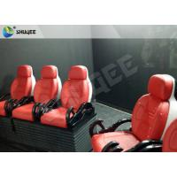 China Truck Mobile 5D Cinema dynamic control system With 6 - 12 Seats wholesale