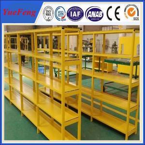 China HOT! China factory oversea wholesales powder coated aluminum profiles for shelves wholesale