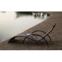 China Outdoor rattan chaise lounge chair-16072 wholesale
