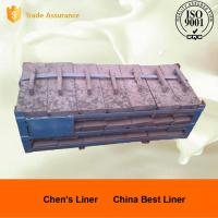 China High Mn Steel Cast Mill Lining System Sag Mill Liners JIS G 5153-1999 / ASTM DF060 wholesale