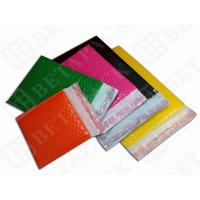 Colored Fully Laminated Plastic Poly Bubble Envelope Bags Yellow / Green