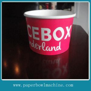 China Ice cream paper bowl on sale