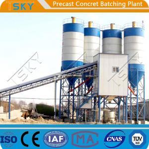 China Belt Conveyor Feeding 20m³/h 180s Precast Batch Plant wholesale