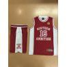 China New custom design basketball uniform basketball wear sports wear wholesale