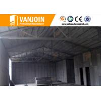 China High rise concrete / steel structure insulated building panels Heat Resistance wholesale