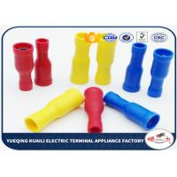 China FRD1.25 - 156 PVC insulating Wire Connectors Terminals Plug / Bullet Type Tinned Surface on sale