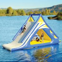 China Aquaglide Summit Express Inflatable Water Sports / 16' Gigantic Inflatable Water Slides on sale
