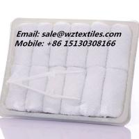 Buy cheap disposable airline towel rolled cotton towel from wholesalers