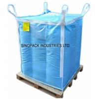 China Baffle design dangerous chemical powder Storage Antistatic Fibc with sift proofing wholesale