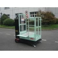 China 200kg Rated Load Aerial Order Picker Semi Electric 4.3m For One Person Stock Picking wholesale