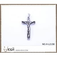 China Hot sell 316 Stainless Steel Cross & Christ  Pendant H-L2158 wholesale