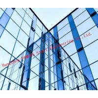China Modern Hidden Frame Tempered Double Layer Glass Aluminum Curtain Wall EPS Project on sale