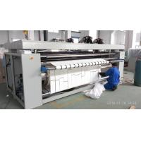 China Natural Gas Heated Roller Press Iron Machine , Europe Standard Industrial Ironing Equipment wholesale
