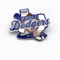 China Different Styles Sports Trading Pins , Metal Printing Soft Enamel Epoxy Pin Badge wholesale