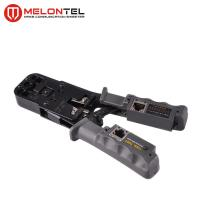 Quality 4P / 6P Modular Plug Crimping Tool Carbon Steel With LAN Cable Tester MT 8107 for sale