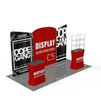 Quality Light Weight Trade Show Poster Display Popular 10ft*10ft Convenient Operation for sale