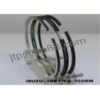 Quality Engine Spare Parts Motorcycle Piston Ring For Isuzu 4BB1 / 4BC1 /4BD1 for sale