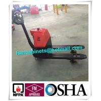 Quality Manual jack hand hydraulic pallet truck trolley , Drum storage cabinet used jacking trolley for sale