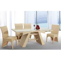 China Outdoor furniture wicker dinning table -9115 wholesale