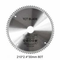 China 6600RPM	TCT Circular Saw Blade 80T , Multi Functions Rotation Cutting Tools wholesale