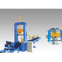China Hydraulic Automatic Centering H Beam Production Line Assembly Machine 1200-1800mm Web Height wholesale