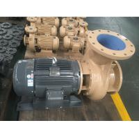 Buy cheap Coaxial Horizontal Centrifugal End Suction Pump Hydraulic Easy Maintenance product