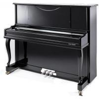 China Curved Leg Polished Acoustic Upright Piano Wooden Piano 123cm AG-123B3 wholesale