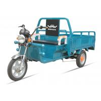 China 160cm Length Green Cargo Electric Tricycles 60V20A 3 Wheel Electric Bicycle wholesale