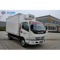 China Foton 4×2 6T 8T Refrigerated Transport Trucks For Frozen Meat wholesale