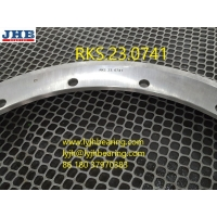 Buy cheap RKS.23.0741 Slewing bearing with flange 848*634*56mm for cargo truck equipment from wholesalers