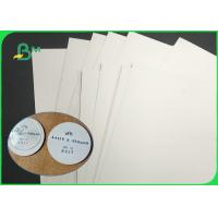 China 24 * 36 inch 0.4mm 0.6mm Cardboard Paper Roll Super White Absorbent Coaster Paper For Beermat wholesale