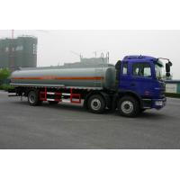China Heavy Duty Oil Tank Truck 6x2 JAC / Fuel Tanker Truck With CA6DF3-18E3 wholesale