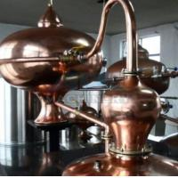 Buy cheap Home alcohol distiller, alcohol distillation equipment & Vodka,Whiskey,Gin Copper Distillery For Sale from wholesalers
