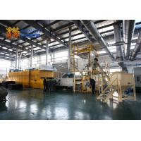 China Heavy Duty Thermal Bonding Machine , Sound Insulation Non Woven Fabric Production Line on sale