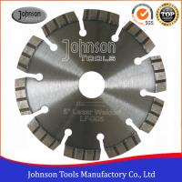 China 125mm Reinforced Concrete Diamond Saw Blades with High Cutting Life wholesale