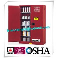 Quality Vertical Combustible Paint Storage Cabinets With Adjustable Horizontal Shelves for sale