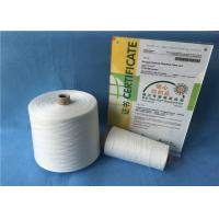 China Bright Color Ring Spun Polyester Yarn , 12/4 20/2 Spun Polyester Sewing Thread wholesale