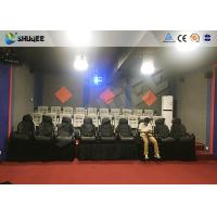 Quality Amusement Park 7D Cinema System With Dynamic Motion Base / 7D Simulator Cinema for sale