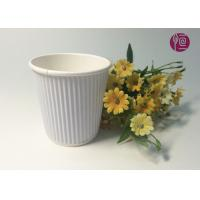 Buy cheap 7oz  230ml Corrugated  Triple Wall Takeaway Coffee Cup With Lid from wholesalers