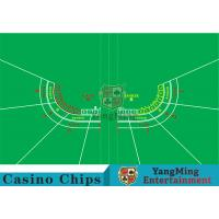 China Polyester Fabric Casino Table Layout Can Be Folded Convenient To Carry wholesale