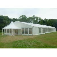 China 15 X 50 Canvas Wedding Party Tent Flame Retardant Hard Plastic ABS Wall wholesale