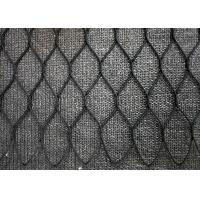 China SS316 Material Animal Enclosure Mesh Stainless Steel Wire Rope Zoo Mesh wholesale