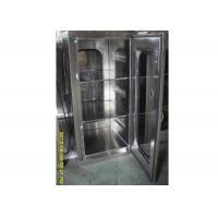 China Laboratory Cleanroom Pass Box With Mechinaical Interlocker / Clean Room Equipment wholesale