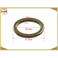 China Adjusted Nickel Plated Metal Belt Loops Inner Size 28.5mm Round Shaped wholesale