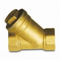 Buy cheap Brass Y Strainer with Stainless Steel Mesh Inside from wholesalers