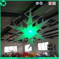 China Inflatable Snowflake With LED Light,Lighting Inflatable Snow Flower wholesale