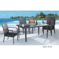 Quality rattan furntiure dinning set-8313 for sale