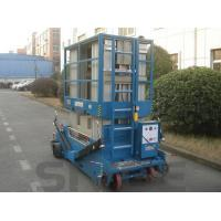 China Motor Driven Aluminum Work Platform 16m Multi Mast For One Man 160 kg Load Capacity wholesale